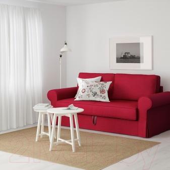 диваны Ikea 120 фото кожаные и маленькие модели бединге и