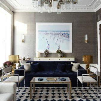 Освещение в гостиной (55 фото): идеи с натяжными потолками и без люстры в зале, как разместить светильники и какие выбрать
