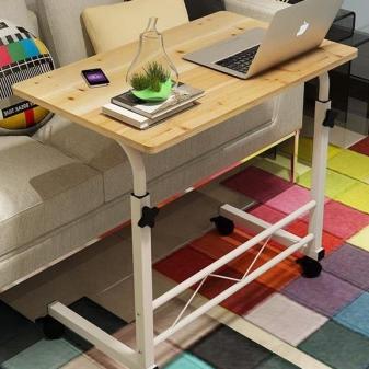 придиванный столик для ноутбука складной