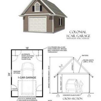 Построить гараж из кирпича под ключ