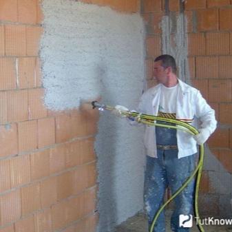 Как красить цементным раствором стены межэтажные перекрытия из керамзитобетона