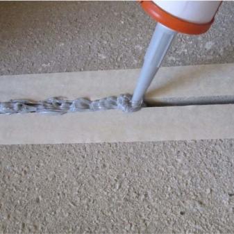 Силикон в бетон керамзитобетон на стяжку в гараже