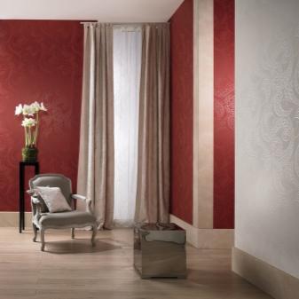 Как клеить стеклообои под покраску в интерьере: фото разных вариантов, выбор краски, цены и классификация