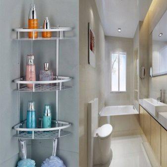 Мебель полки для ванной Душевой лоток AlcaPlast APZ101 750 с опорами