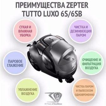 Пылесосы Zepter: характеристики пылесосов CleanSy PWC 100