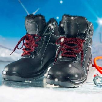 Какая рабочая обувь должна быть зимой?