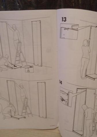 икеа инструкция по сборке шкафа пакс