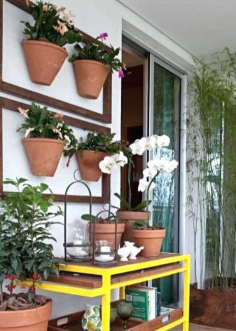 Стеллаж на балкон (65 фото): металлический, деревянный стелл.