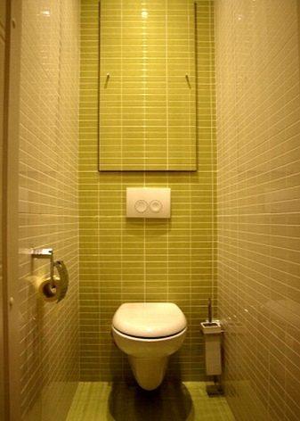 Рольшторы в туалете