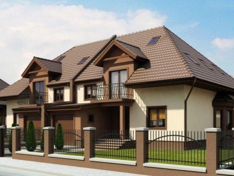 Изображение - Дом с разными входами раздел для двоих хозяев dom-na-dve-semi-s-dvumya-otdelnymi-vhodami-primery-proektov-29