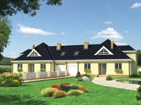 Изображение - Дом с разными входами раздел для двоих хозяев dom-na-dve-semi-s-dvumya-otdelnymi-vhodami-primery-proektov-99