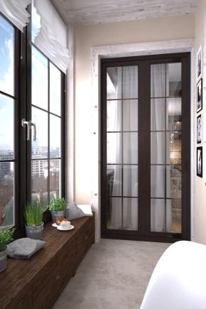 дизайн балкона 6 метров фото 1