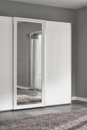 белый шкаф купе 78 фото глянец с зеркалом в классическом