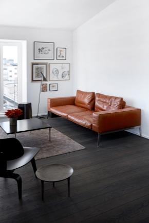 диван из кожзама