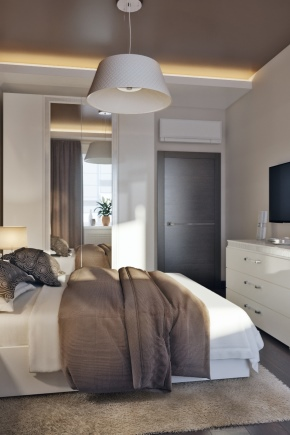 Дизайн спальни площадью 8 кв. м.
