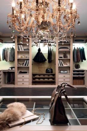 Как обустроить гардеробную комнату?