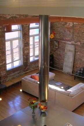 Квартира-студия в стиле «лофт»