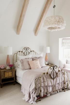 Спальня в стиле «Шебби Шик»