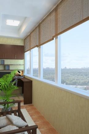Выбираем шторы на балкон