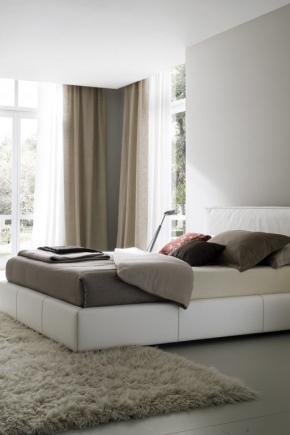 d0c8d4990cbd9 Спальня в современном стиле (156 фото): дизайнерские идеи 2019 ...