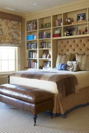 Выбираем стеллаж для спальни