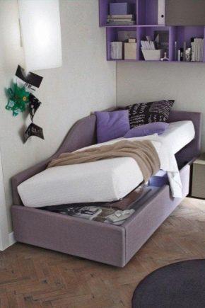 Ортопедические кровати с подъемным механизмом