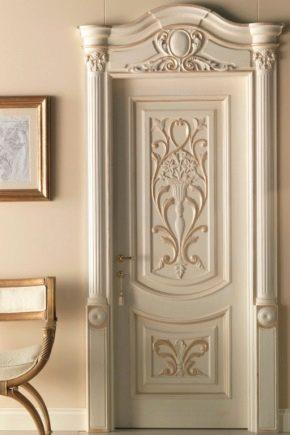 Филенчатые двери: преимущества и недостатки