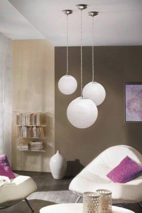 Круглые светильники