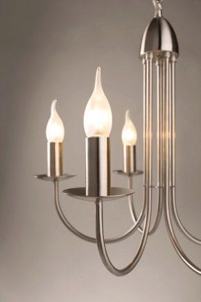 Светильники свечи электрические