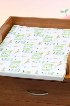 Пеленальные матрасы на комод, столик и кроватку