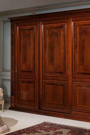 шкафы из массива дерева 53 фото элитные модели из натурального