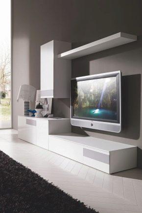 современные стенки в гостиную 74 фото красивые угловые и мини