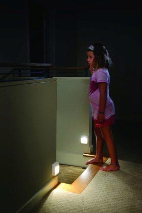 Светодиодные лампы с датчиком движения