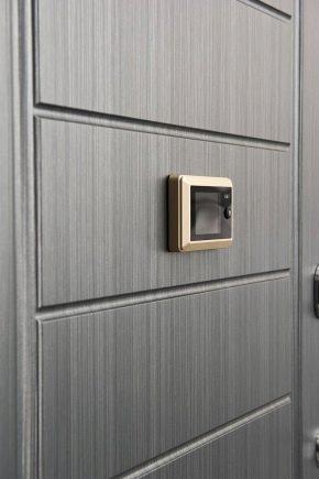 Важная деталь: видеоглазок для входной двери