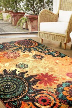 Жаккардовые ковры: состав и особенности