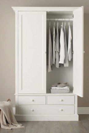 Двухстворчатые шкафы для одежды