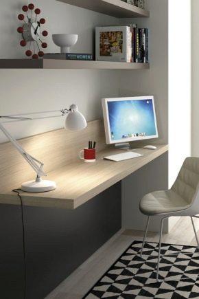 Какие бывают столешницы для письменного стола?