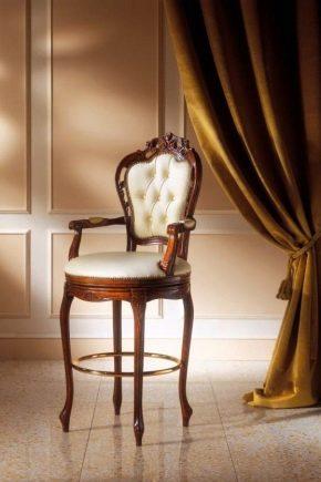 Круглые стулья в интерьере