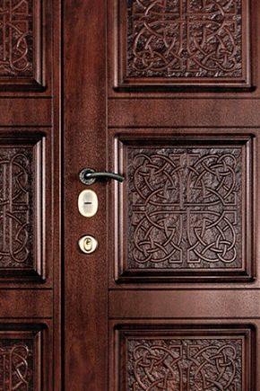 Накладки на двери из МДФ: особенности конструкции