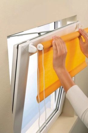 Установка жалюзи на пластиковые окна без сверления