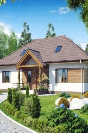 Варианты планировки одноэтажного дома размером 12х12 м