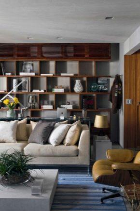 Как выбрать стеллаж в гостиную?