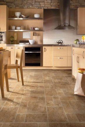 Напольное покрытие для кухни: что лучше выбрать?