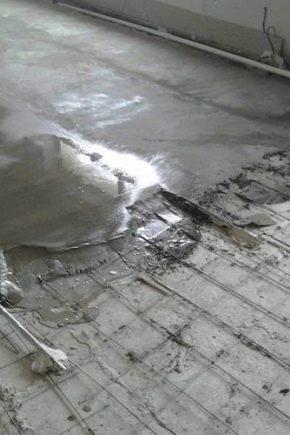 Растворы для ремонта цементных полов заменитель бетона цена в москве