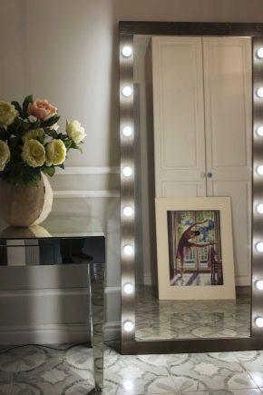 Зеркала с подсветкой: особенности и виды
