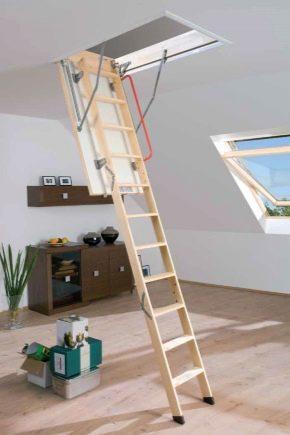 Как сделать чердачную лестницу 771