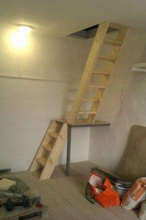 Делаем удобную и безопасную лестницу в подвал: какие есть варианты{q}