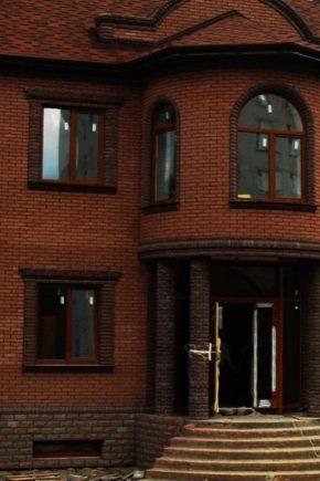Отделка фасад дома фото частных домов