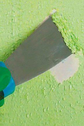 Как снять краску со стены в ванной?