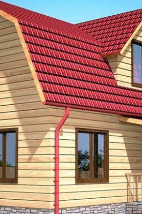 Ломаная крыша своими руками пошагово фото 417